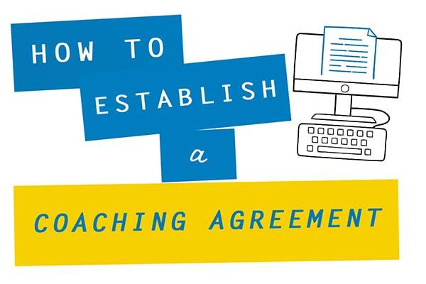 how to establish a coaching agreement coach