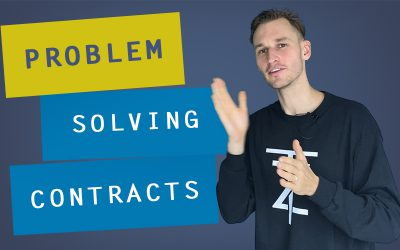 How to establish a Coaching Agreement? part 4: Problem-Solving Contracts